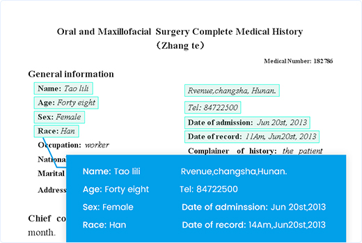 Medical Records OCR