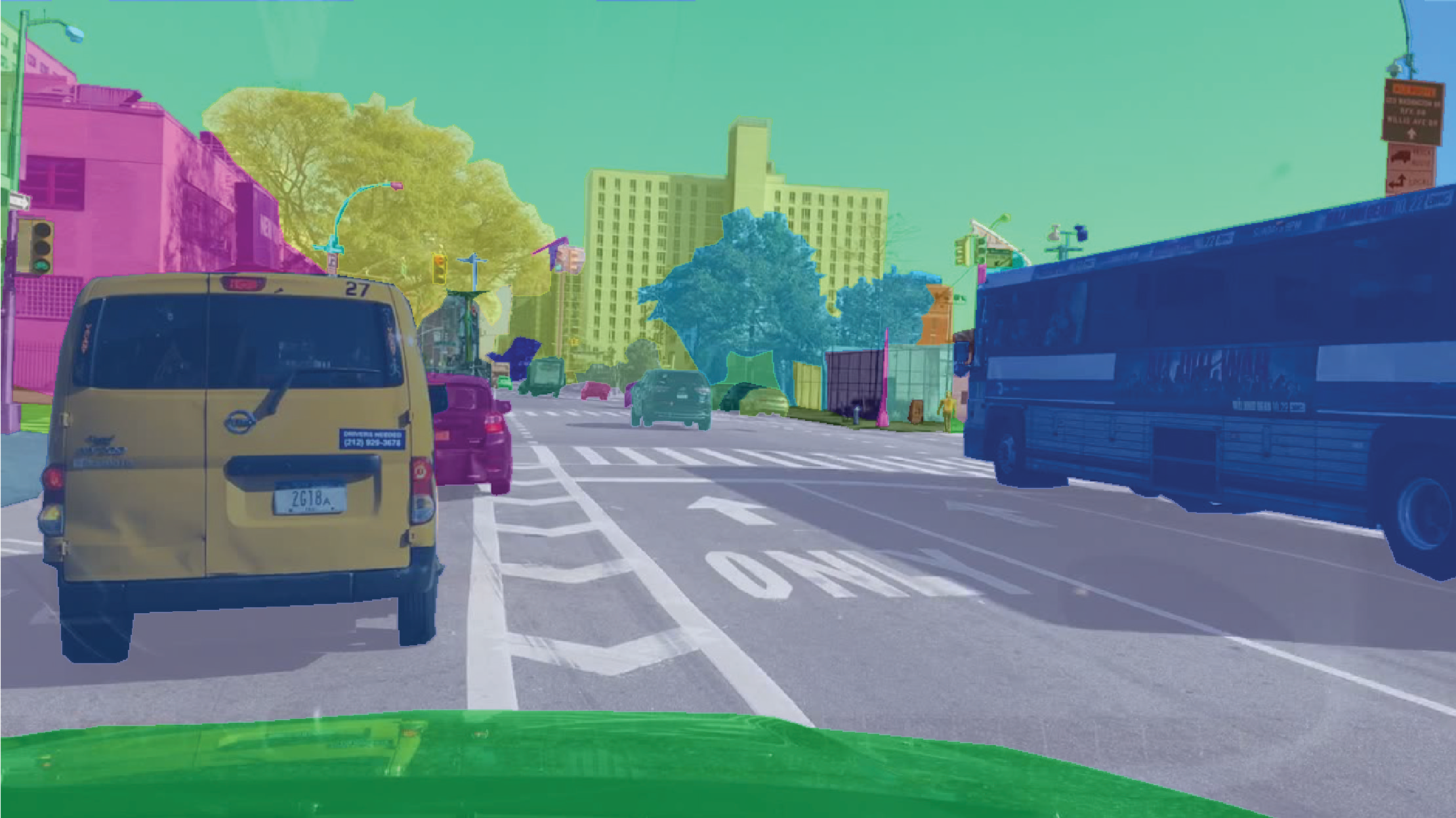 autonomous driving semantic segmentation